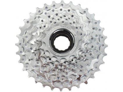 8-kolo Sunrace 13-32 zubů, chrom, index, pro E-bike (v krabičce)