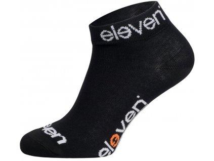 ponožky ELEVEN Luca BASIC SIGN vel. 11-13 (XL) černé