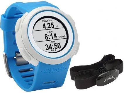 hodinky MAGELLAN Echo HR modré