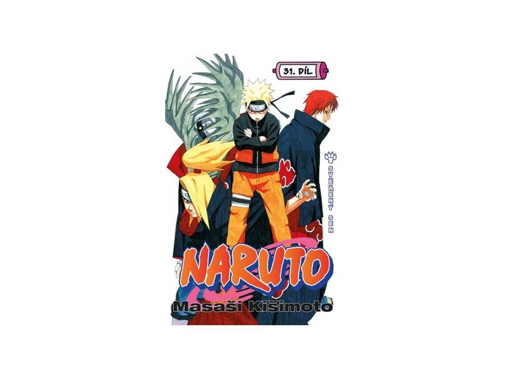 Naruto 31 - Svěřený sen