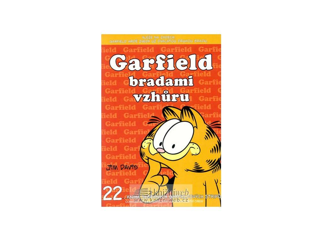Garfield bradami vzhůru (č.22)