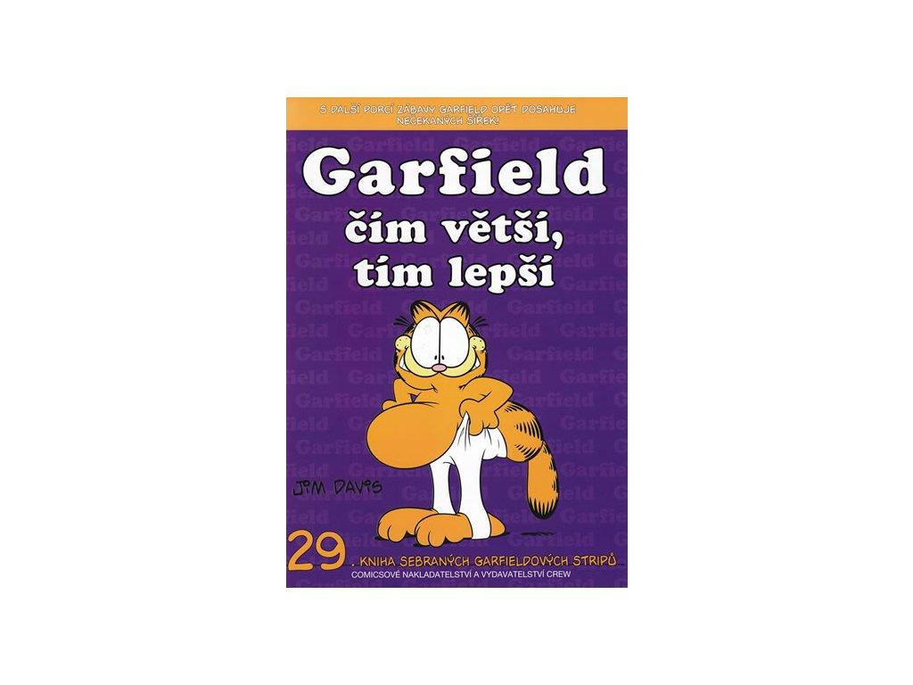 Garfield čím větší,tím lepší (č.29)