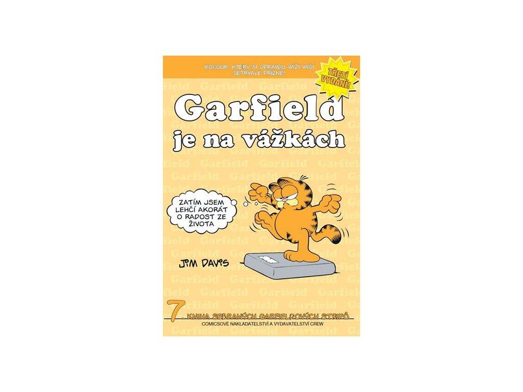 Garfield je na vážkách (č.7)