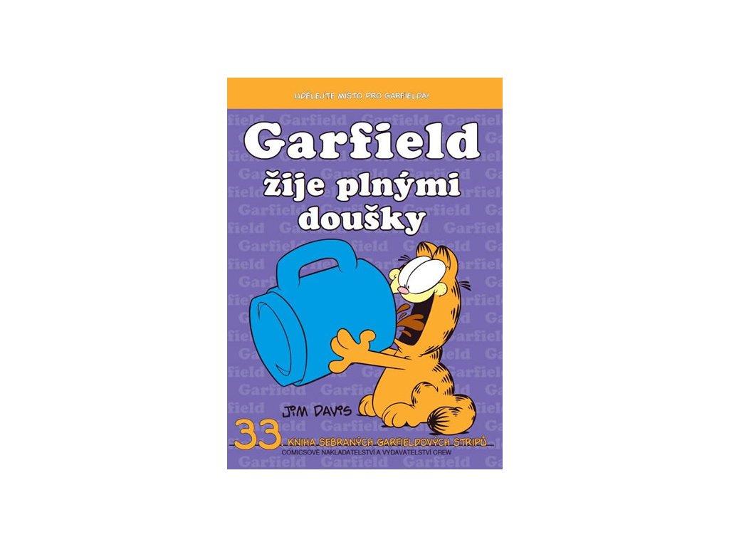 Garfield žije plnými doušky (č.33)