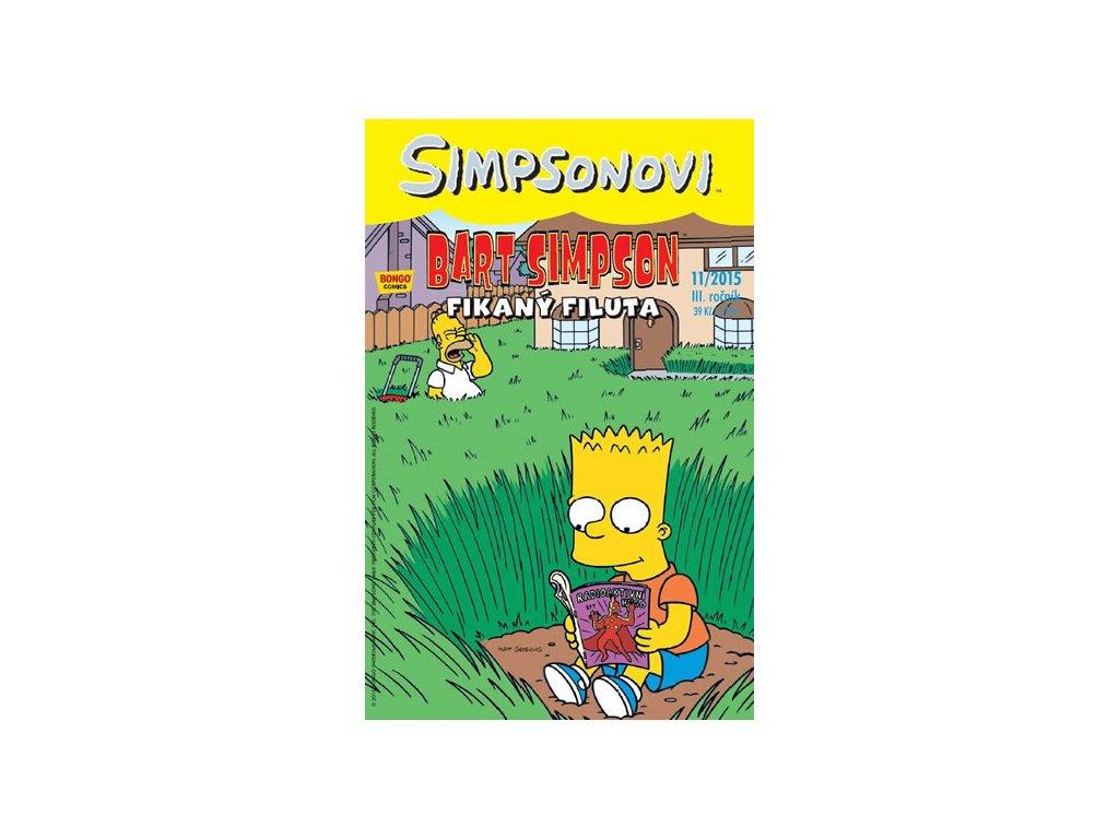 Simpsonovi - Bart Simpson 11/2015 - Fikaný filuta