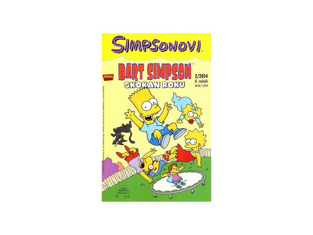 Simpsonovi - Bart Simpson 2/14 - Skokan roku
