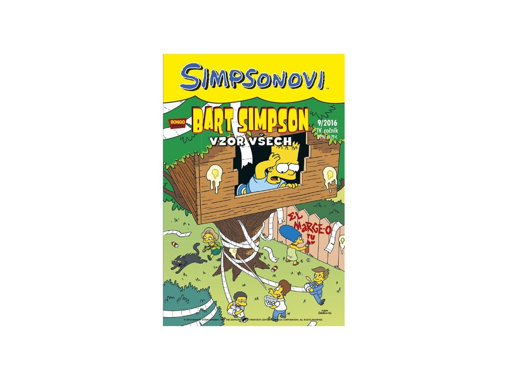 Simpsonovi - Bart Simpson 9/2016 - Vzor všech