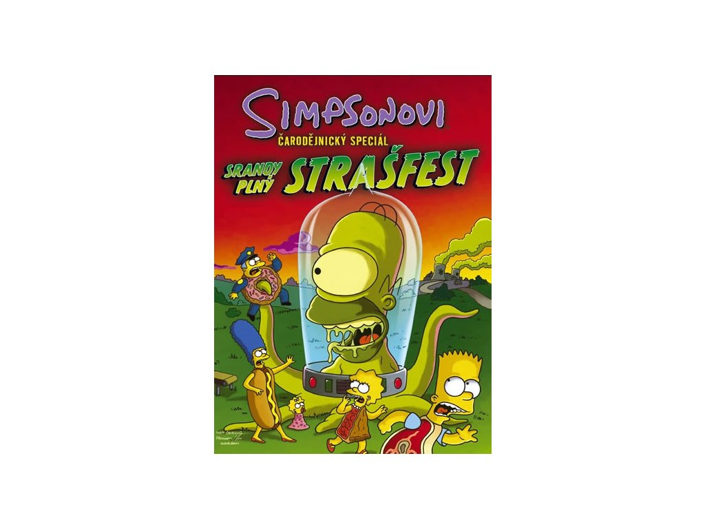 Simpsonovi Čarodějnický speciál - Srandy plný strašfest