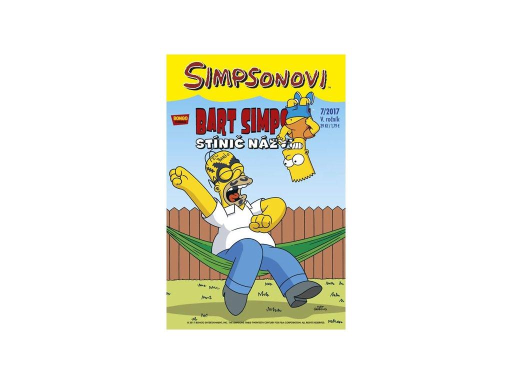 Simpsonovi - Bart Simpson 7/2017 - Stínič názvu