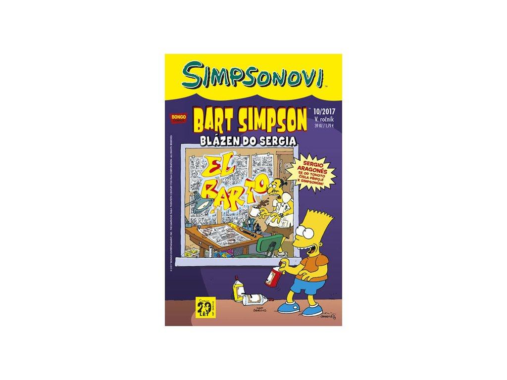 Simpsonovi - Bart Simpson 10/2017 - Blázen do Sergia