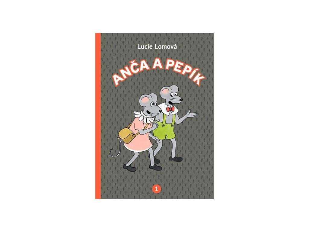 Anča a Pepík 1 - komiks
