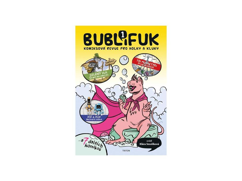 394530 bublifuk 1 komiksova revue pro holky a kluky