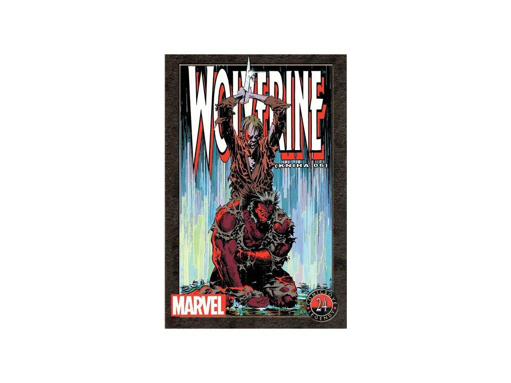 394566 wolverine kniha 06 comicsove legendy 24