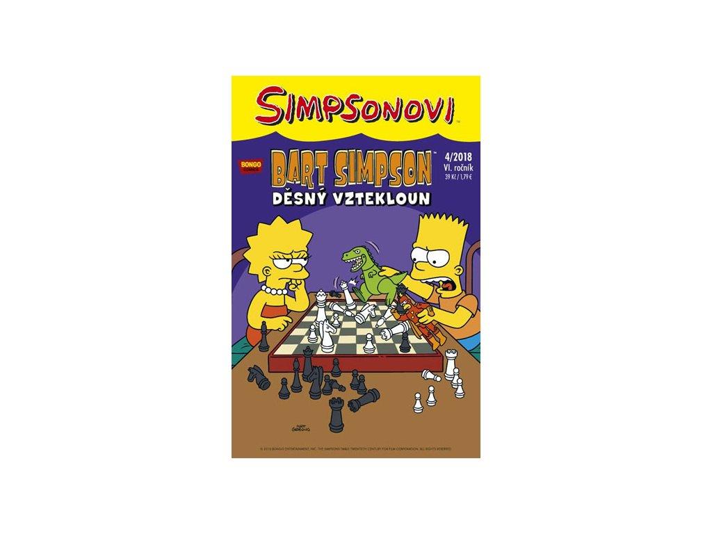 Simpsonovi - Bart Simpson 4/2018 - Děsný vztekloun