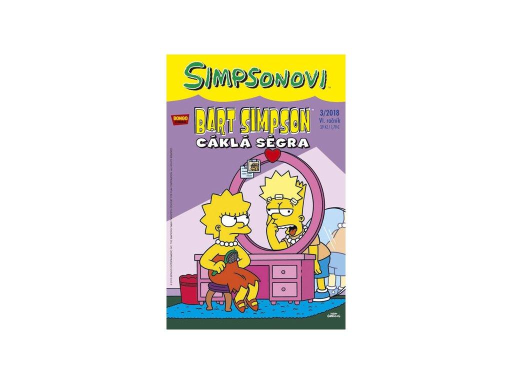 Simpsonovi - Bart Simpson 3/2018 - Cáklá ségra