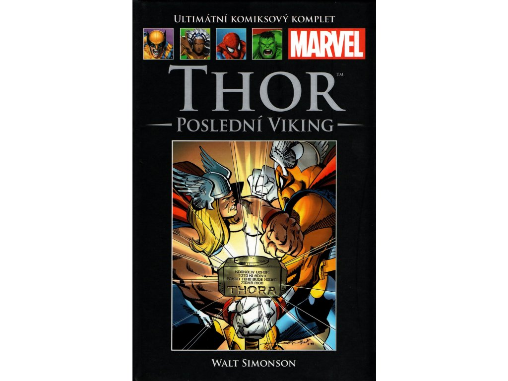 UKK Ultimátní Komiksový Komplet 3 Thor Poslední Viking