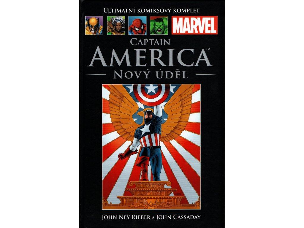 UKK Ultimátní Komiksový Komplet 14 Captain America Nový úděl