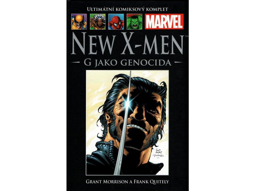 UKK Ultimátní Komiksový Komplet 18 New X-Men G jako Genocida