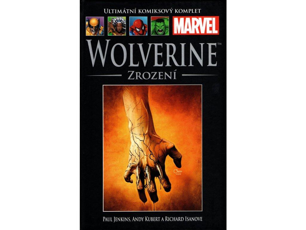 UKK Ultimátní Komiksový Komplet 23 Wolverine Zrození