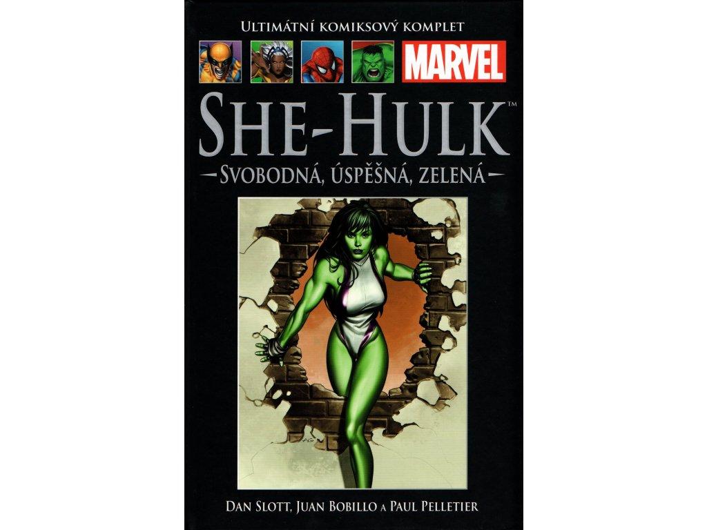 UKK Ultimátní Komiksový Komplet 30 She-Hulk Svobodná, úspěšná, zelená