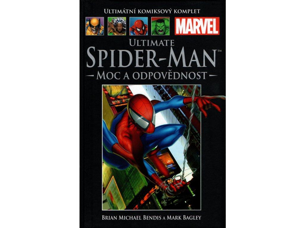 UKK Ultimátní Komiksový Komplet 33 Ultimate Spider-Man Moc a odpovědnost