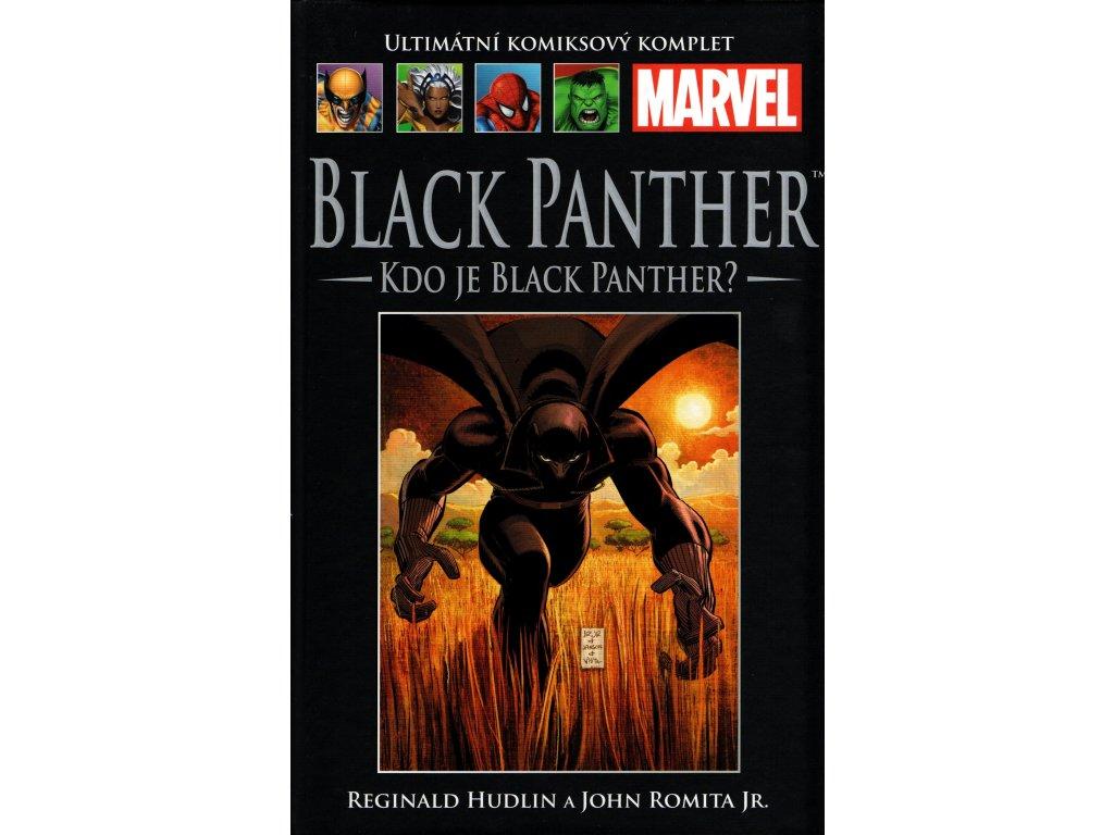 UKK Ultimátní Komiksový Komplet 35 Black Panther Kdo je Black Panther?