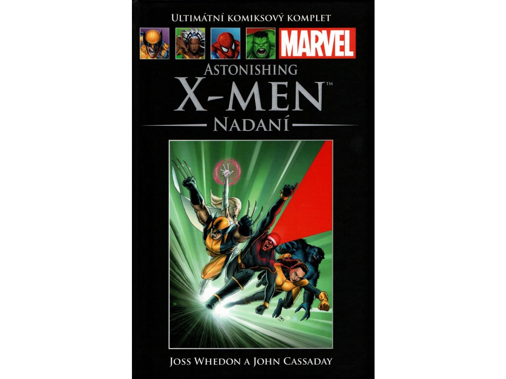 UKK Ultimátní Komiksový Komplet 36 Astonishing X-Men Nadaní