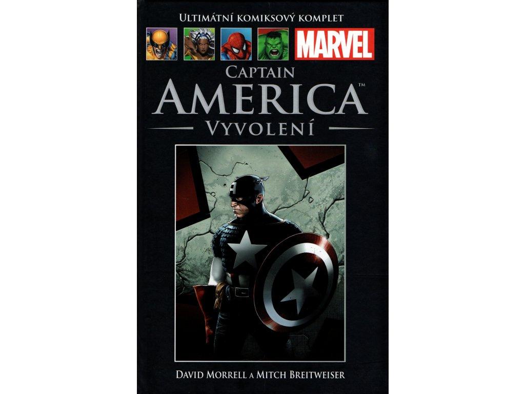 UKK Ultimátní Komiksový Komplet 48 Captain America Vyvolení