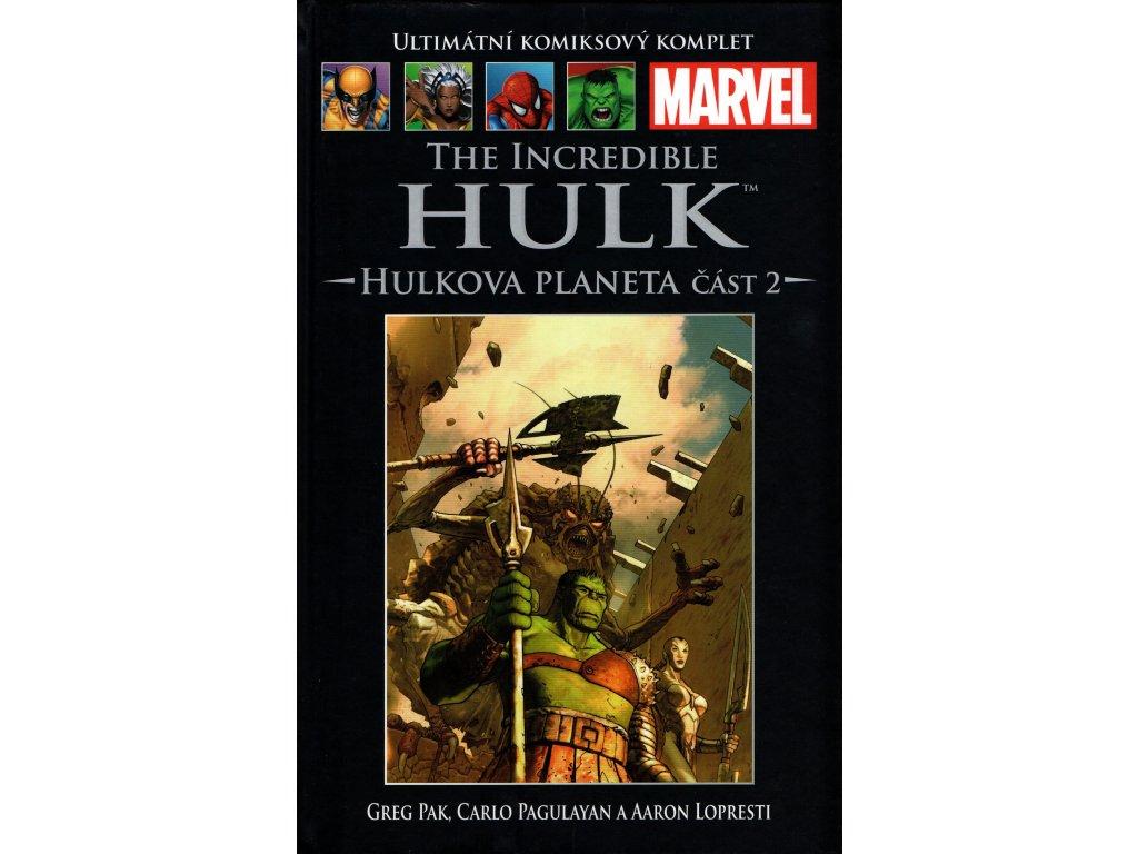 UKK Ultimátní Komiksový Komplet 50 The Incredible Hulk Hulkova planeta, část 2