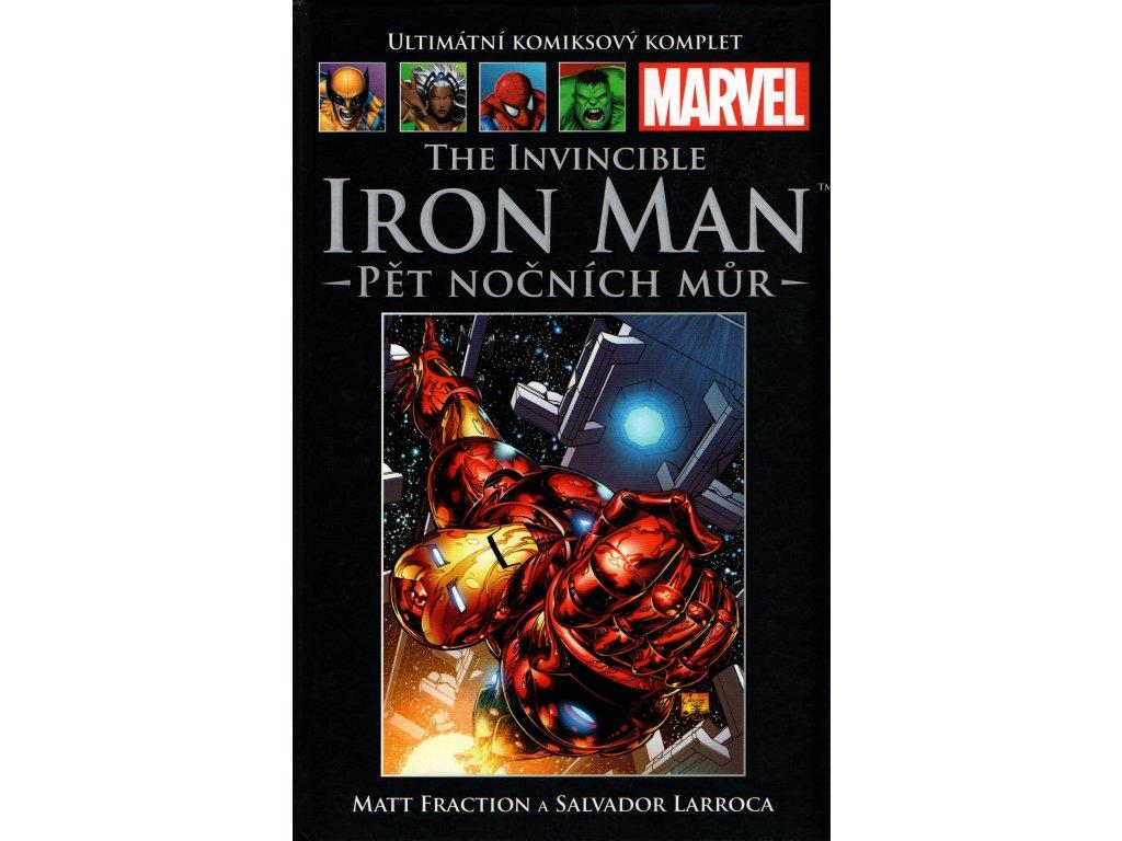 UKK Ultimátní Komiksový Komplet 58 The Invincible Iron Man Pět nočních můr