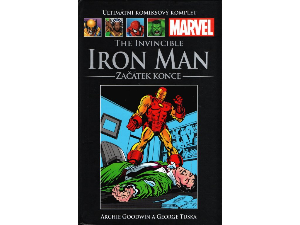 409845 ukk 101 the invincible iron man zacatek konce novy