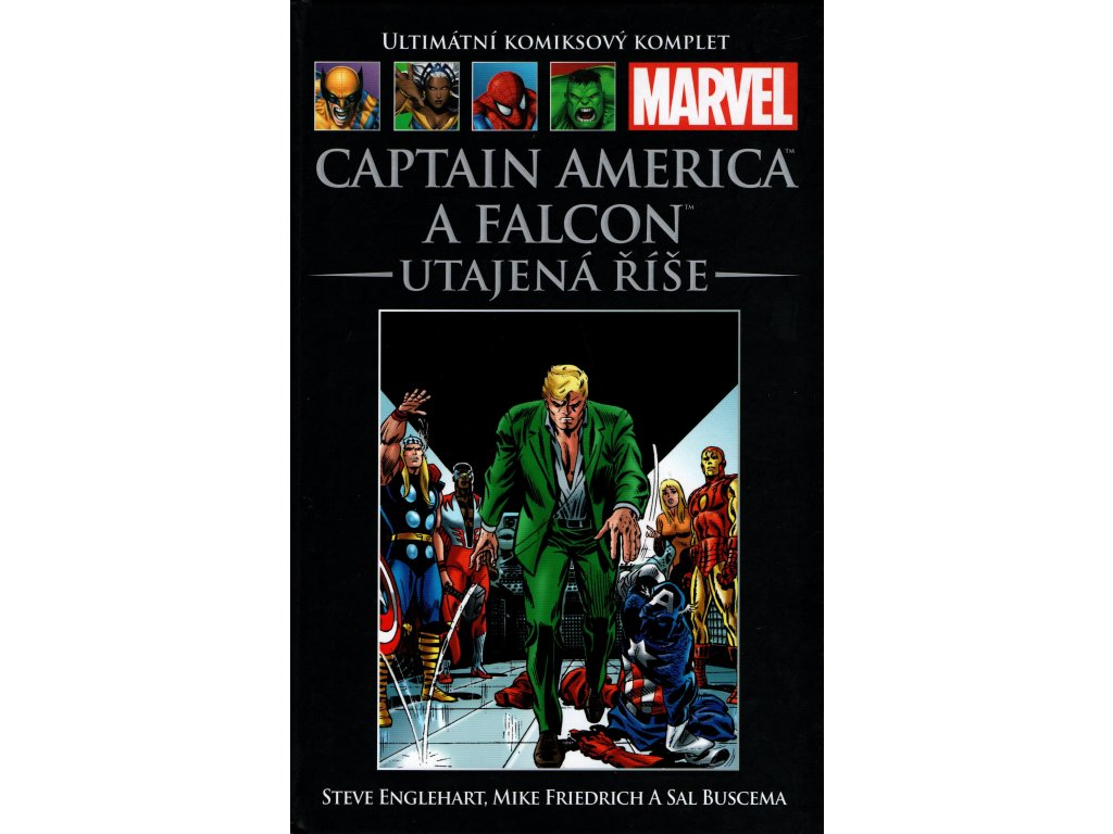 UKK Ultimátní Komiksový Komplet 112 Captain America a Falcon Utajená říše
