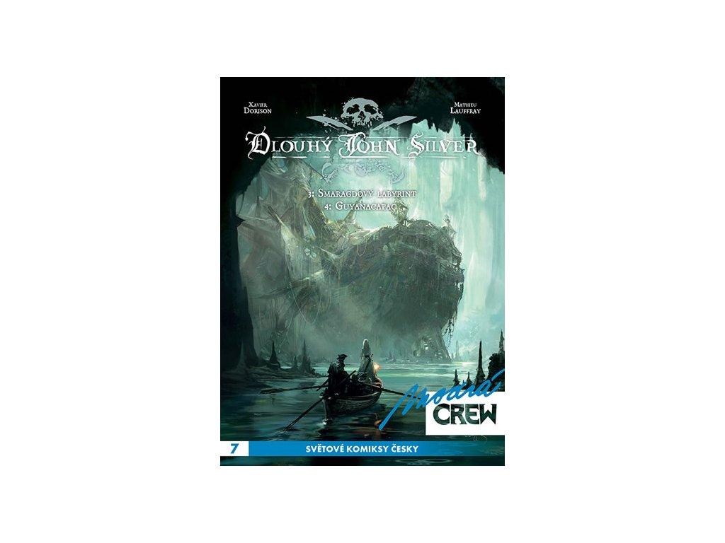 Modrá CREW 7 - Dlouhý John Silver 3+4