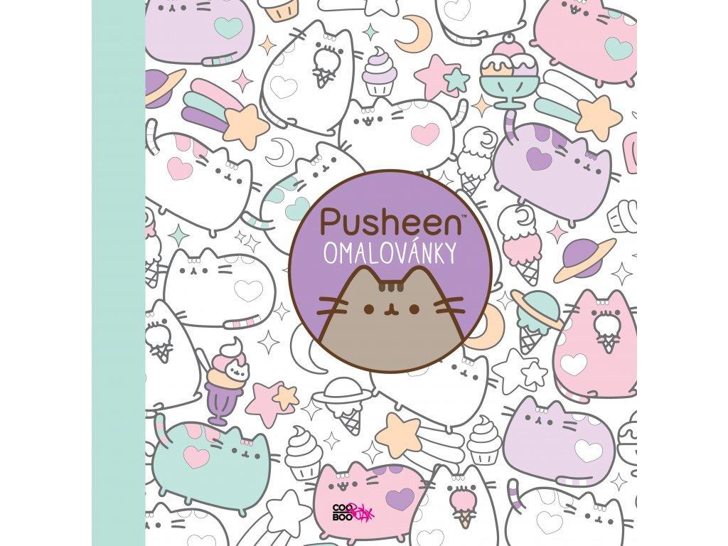 Pusheen - omalovánky