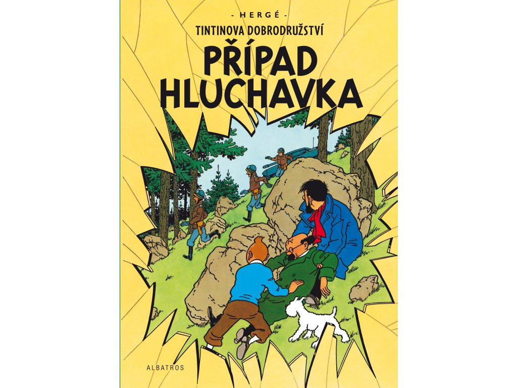 Tintin 18 - Případ Hluchavka