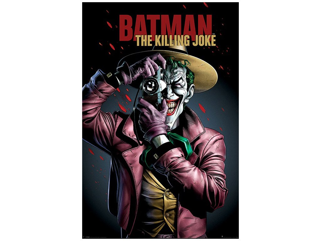 Plakát BATMAN/THE KILLING JOKE COVER