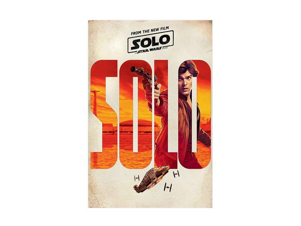 Plakát SOLO TEASER/150 g