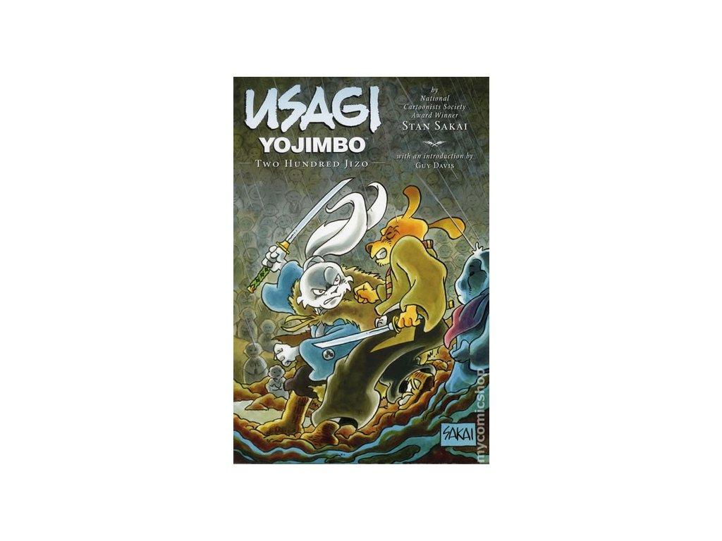 Usagi Yojimbo - Dvě stě sošek jizo