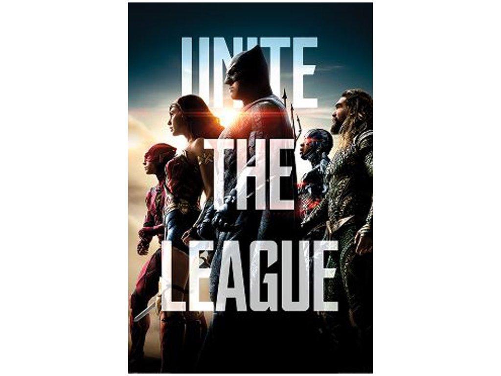 Plakát JUSTICE LEAGUE/UNITE THE LEAGUE