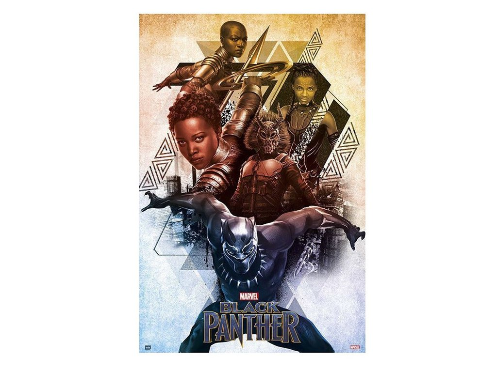 Plakát BLACK PANTHER/150 gr