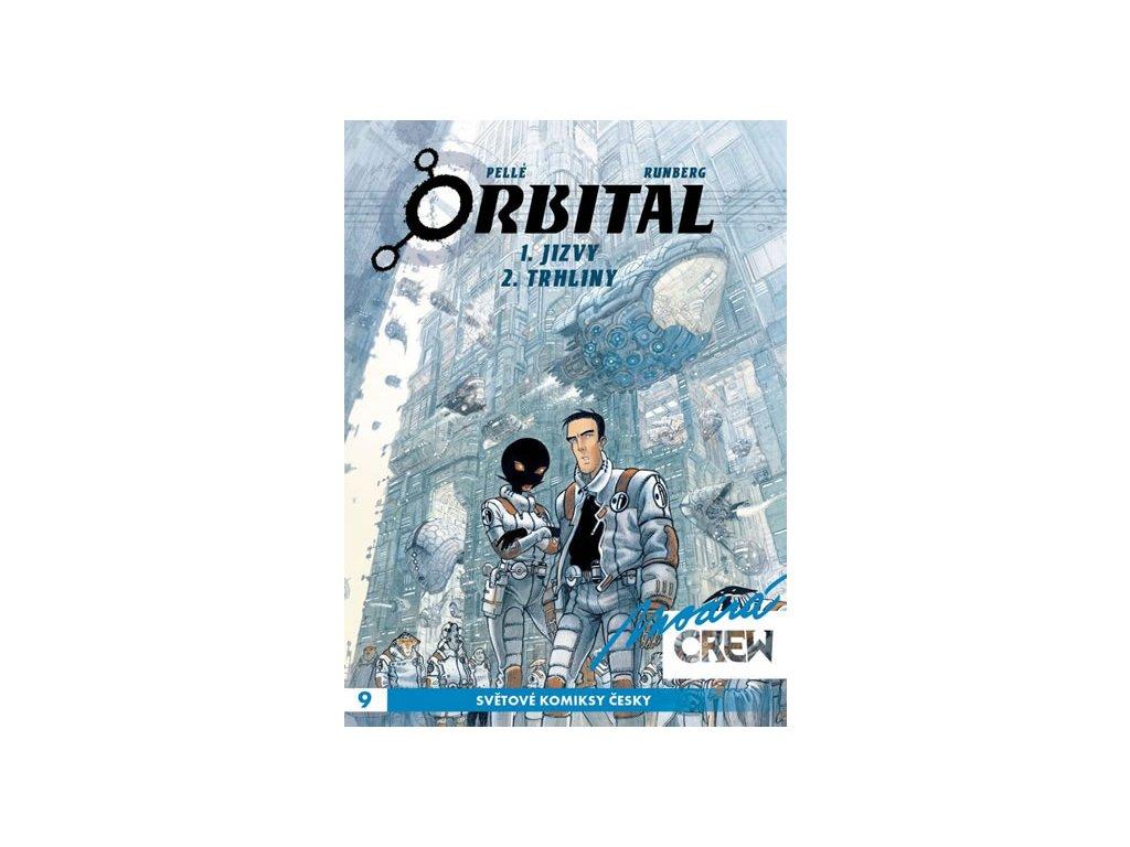 Modrá CREW 9 - Orbital 1 A 2