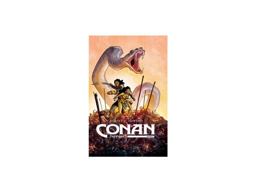 Conan z Cimmerie 1 (žlutá ob.)