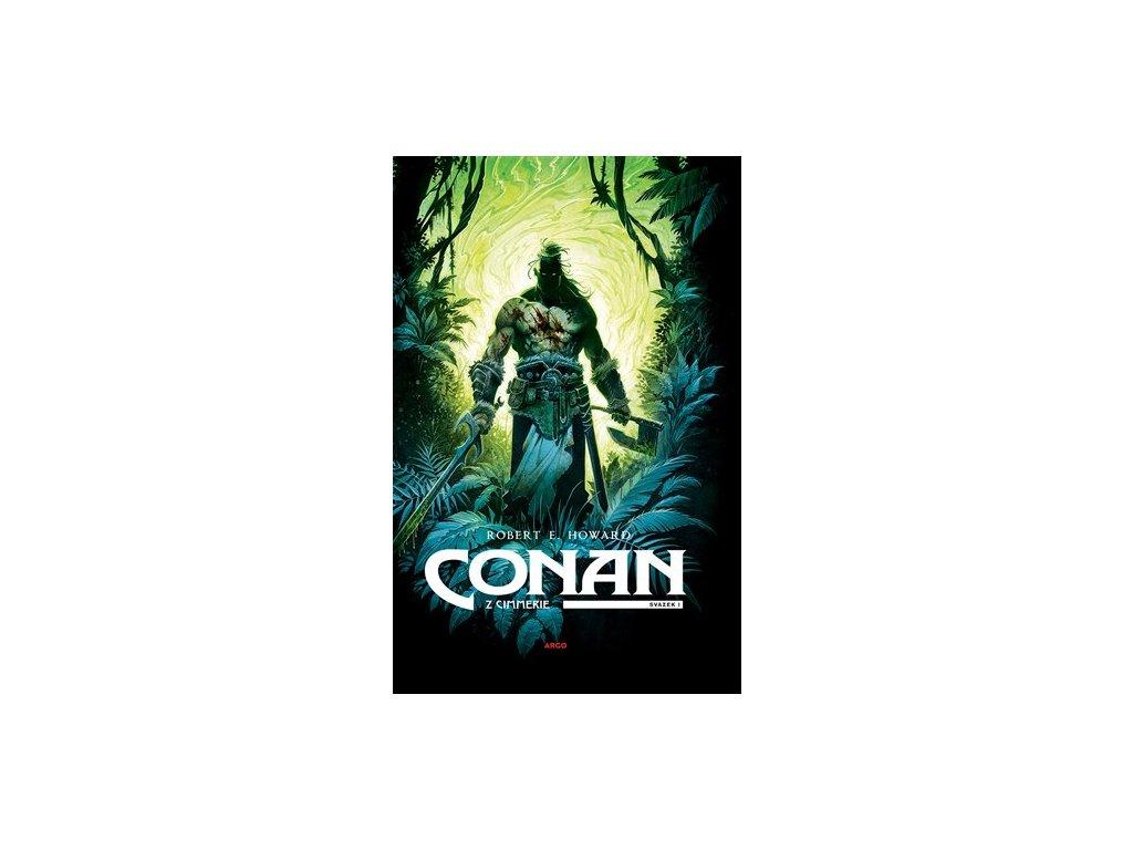 Conan z Cimmerie 1 (zelená ob.)