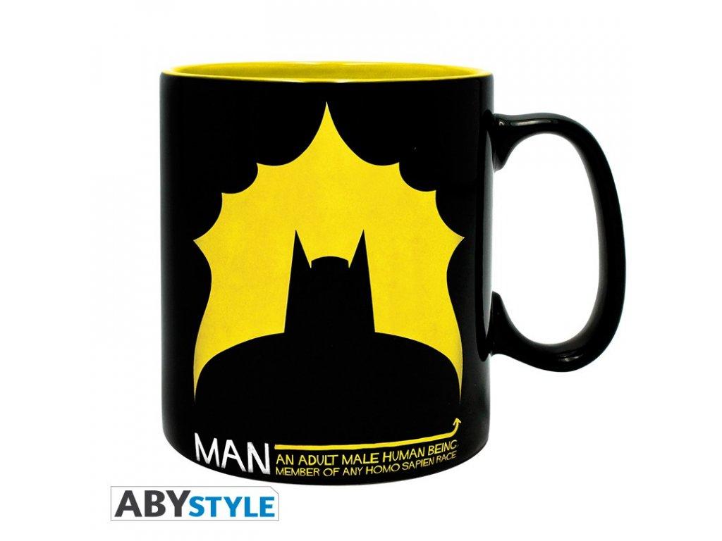 dc comics mug 460 ml bat man porcl with boxx2