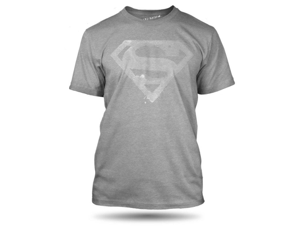 tricko superman dotted panske tmavemodre