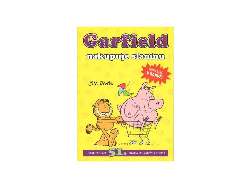 Garfield nakupuje slaninu (č. 51)