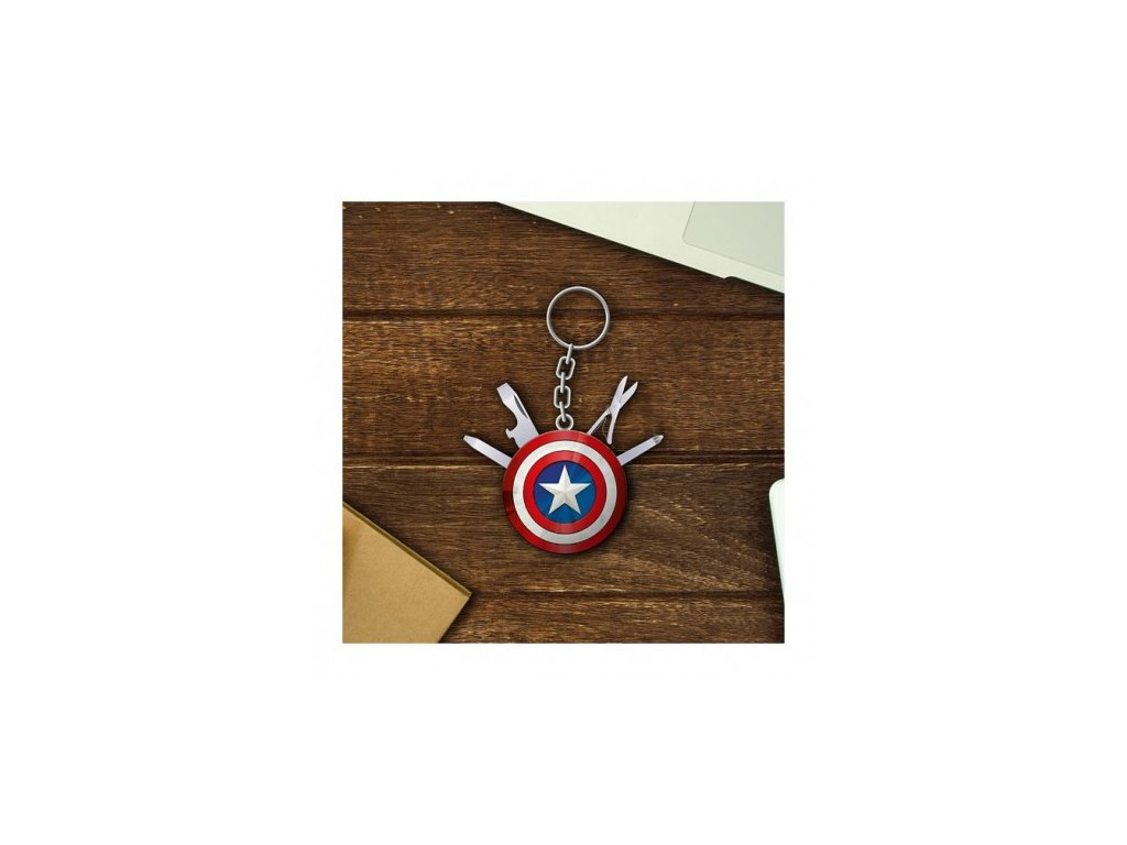 MARVEL - Marvel Avengers Captain America Multi Tool