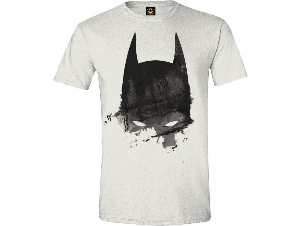 Batman - Mask Paint Men T-shirt - White