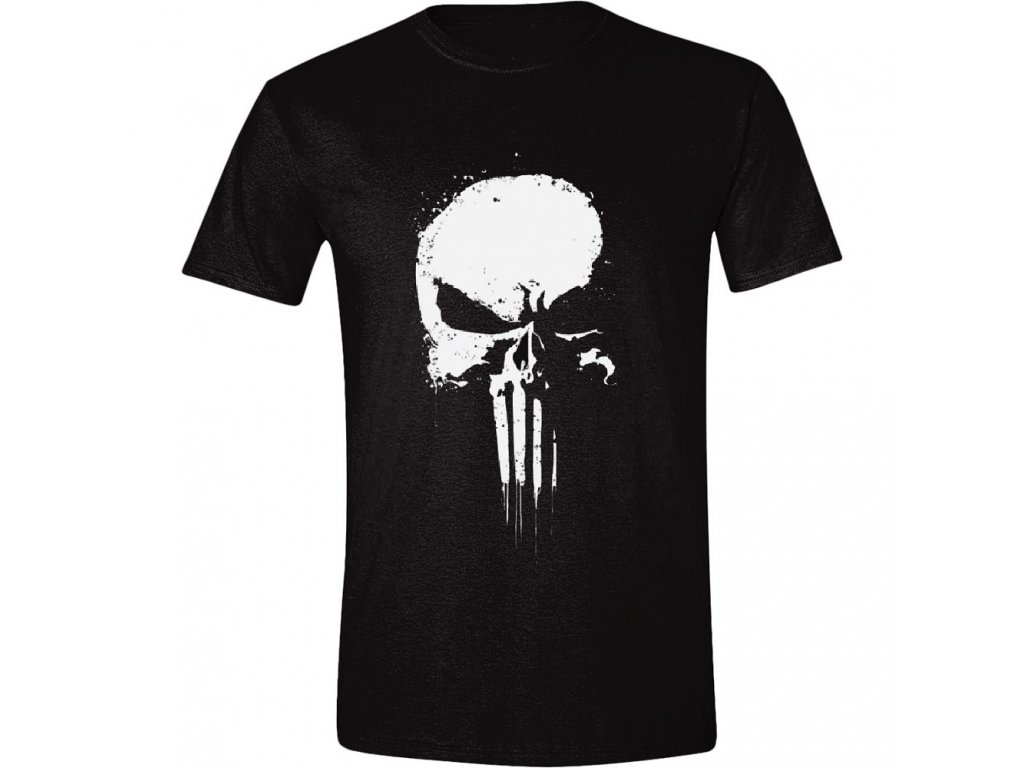 The Punisher - Series Skull Men T-Shirt - Black - M