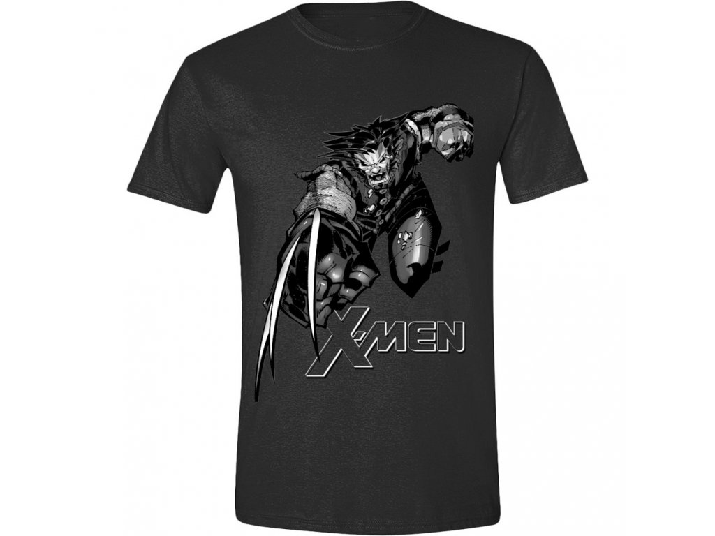 X Men Wolverine - Fight Men T-Shirt - Anthracite - XL